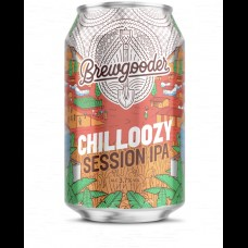 BREWGOODER Chilloozy Session IPA 330ml 3.7% ABV