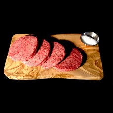 Plain Hand Pressed Beef Burgers (450g)